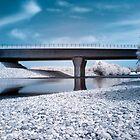 Highway bridge in IR by teva-art