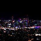 Dark over Brisbane by Peter Doré