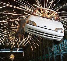 Exploding Cars 4 by Jason Langer