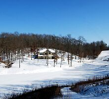 The Winter Landscape at Home. by barnsis