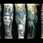A leg for horror fans by maffikus