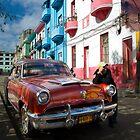 Cuban Car by dogboxphoto