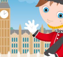 London boy Sticker