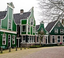 Zaanse schans ( Holland ) by Willem Hoekstra