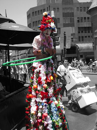 Introducing the 70 year old clown by Janie. D