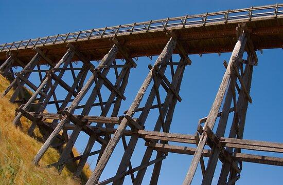 Nimmons Bridge, Scarsdale, Victoria, Australia by haymelter