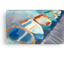 Boats...A Few of My Favorite Things Canvas Print