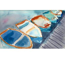 Boats...A Few of My Favorite Things Photographic Print