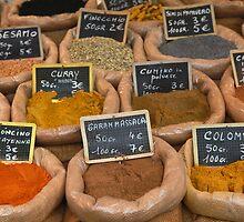 Italian Spices by Jocelyn Pride