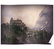 Hohenwerfen Burg, Austria Poster