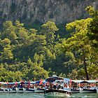 River Boats, Dalyan by Christopher Cullen