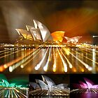 Sydney Opera House in Colour by Dean Perkins
