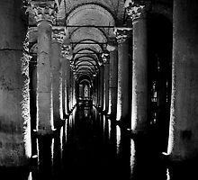 Basilica Cistern by Lidia D'Opera