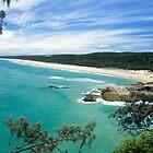 MAIN BEACH AT NORTH STRADBROKE ISLAND by Troy Curry