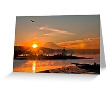 Sun Glow Greeting Card
