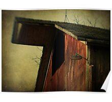 Willard's Barn (detail) Poster