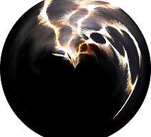 Firework orb by Stephanie Owen