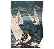 Catching the Afternoon Wind Poster