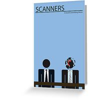 Scanners Movie Poster (30 Years Old in 2011) Greeting Card