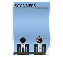 Scanners Movie Poster (30 Years Old in 2011) Poster
