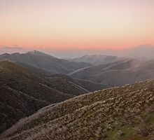 Mount Feathertop Sunset by Adam Branford