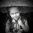 Little Girl With Lace Umbrella   by ldermid75