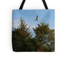 Fourteen Bald Eagles Tote Bag