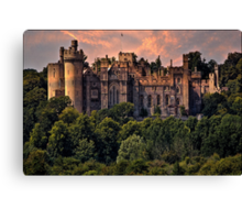 Arundel Castle, West Sussex, UK Canvas Print