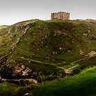 Tintagel Panoramic View by John Bullen