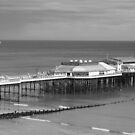 Monochrome Pier at Cromer by Nick Martin