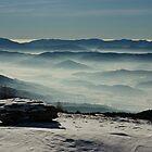 Range of mountains by Béla Török
