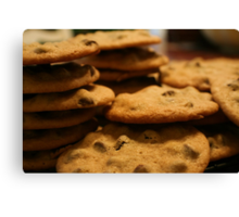Chocolate Chip Cookies Canvas Print