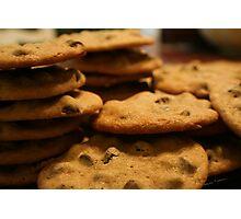 Chocolate Chip Cookies Photographic Print
