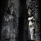 Woman symbol in Angkor Wat by draibolit
