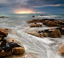Sunburst, Friendly Beaches, Freycinet National Park by NickMonk