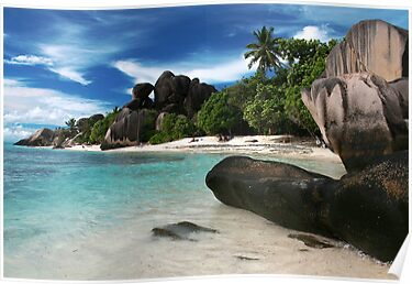 Anse Source d&#x27;Argent, Seychelles by Cindy Ritchie