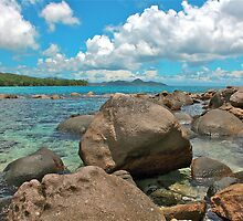 Barbarons Beach, Seychelles by Cindy Ritchie