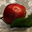 Apple on Ice by RosiLorz