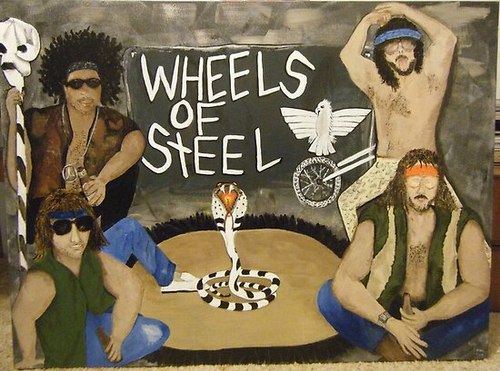 Wheels of Steel The Moment by Kathleen Duronio