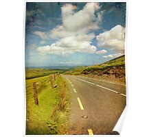Rural Countryside Scenic Drive, County Kerry, Ireland Poster