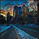 Manhattan Sunset by Chris Lord