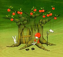 My Apple Tree House -Reading- by naokosstoop