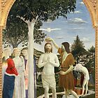 Baptism of Christ by Piero della Francesca by Bridgeman Art Library