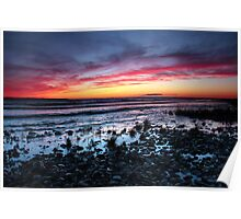 Presque Isle Sunset  Poster