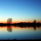 Sunset at St Chad's Water 1 by Paul  Green