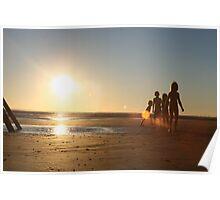 Wittering Sunset Poster