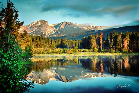 Rocky Mountain Morning by Gregory Ballos | gregoryballosphoto.com