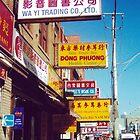 Toronto Chinatown Street Scene (Dundas West at Spadina, Toronto, Ontario, Canada, March 2007) by Edward A. Lentz
