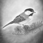 &quot;Still Life of a Chickadee&quot;  by iLovePencils