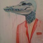 ~man-gator~ by Jaimee Fryer